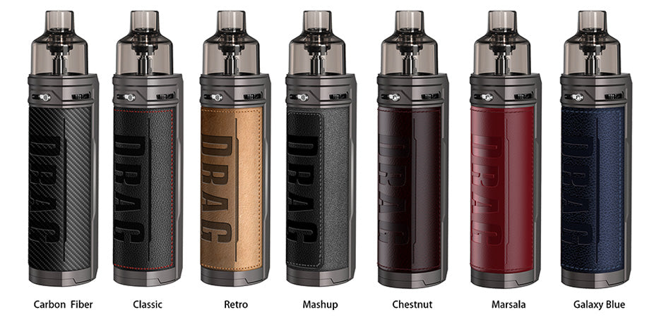 VOOPOO DRAG X 80W VW Pod Kit *NEW COLOURS* - ECIGONE