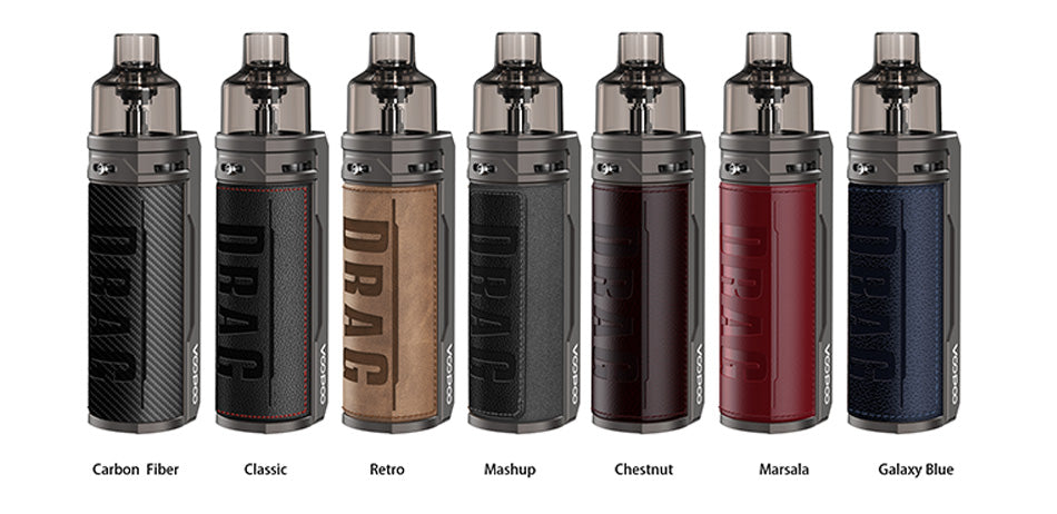 VOOPOO DRAG S 60W VW Pod Kit *NEW COLOURS* - ECIGONE