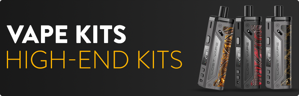 High-End Kits - Take your vaping experience to the next level with High-End Kits. From Mechanical Mods to Advanced Vape Kits. Unique LIMITED EDITION or HAND MADE Vape Kits to fit vape enthusiasts needs