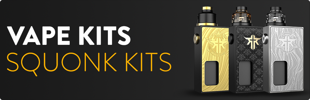 Squonk Kits - Ecigone Vape Shop United Kingdom UK Free Shipping Fast Delivery Deals Bundle Deals Lowest Price Hardware E-Liquids Mods Tanks SubOhm Next Day Delivery Vaping Vape Kits Nic Salts Nicotine Pod System Accessories Weekly Deals Special Deal