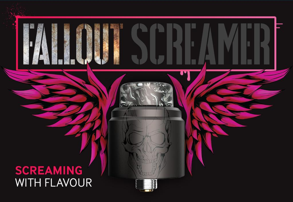 ECIGONE - The Screamer RDA by Fallout x Mechlyfe