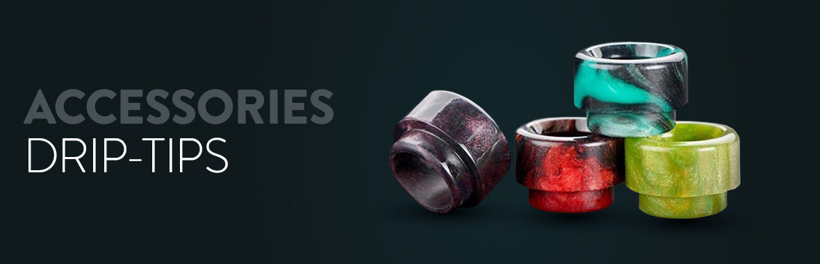 DRIP TIPS - ACCESSORIES - ECIGONE - VAPE SHOP UK