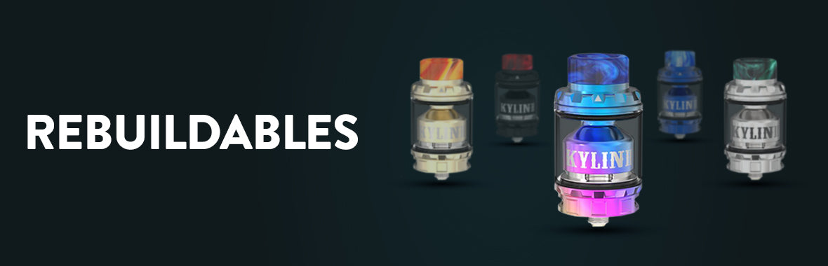REBUILDABLES - ECIGONE - VAPE SHOP UK