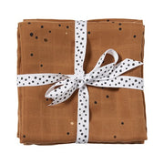 Done By Deer Burp Cloth 2 Pack dreamy dots, mustard