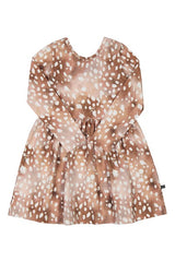 Kaiko Bambi Dress Ls Copper Bambi