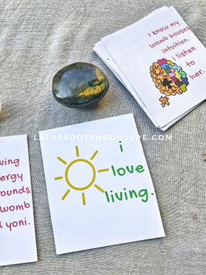 How To Use Your Self Love Healing Affirmation Deck