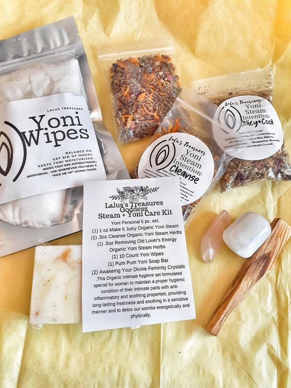 Yoni Steam Kit/  Goddess Kit