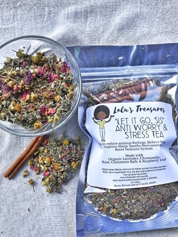 Sis, Let It Go Anti-anxiety Tea for Insomnia and Chronic Worry