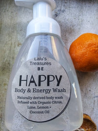 Organic Body & Energy Soap Wash