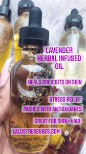 Lavender Hair and Body Oil