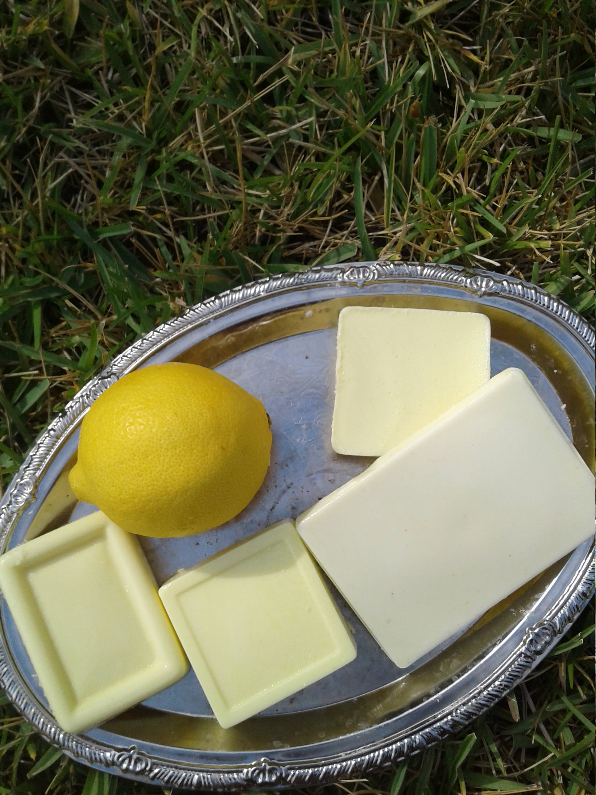 Handmade Lemon Verbana Soap Bar