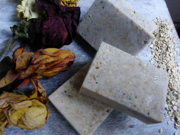 Oat, Honey and Milk Bar Soap