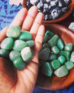 Green Aventurine. Fertility Stone. Good luck stone