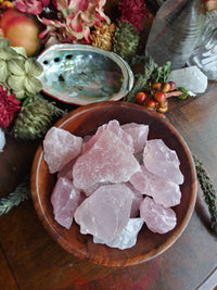 Rose Quartz Raw Chunk