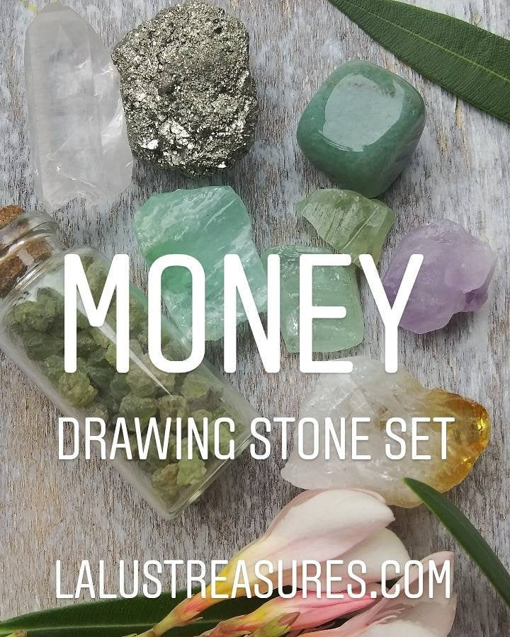 Money Drawing Crystal Set