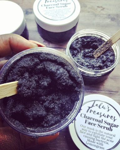 Charcoal Facial/Body Scrub