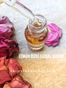 Lemon Rose Face Oil