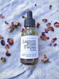 Lemon Rose Facial Spa Kit