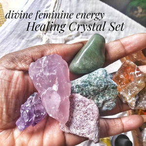 Activating Your Divine Feminine Energy Crystal Healing Set | Activate your Yoni