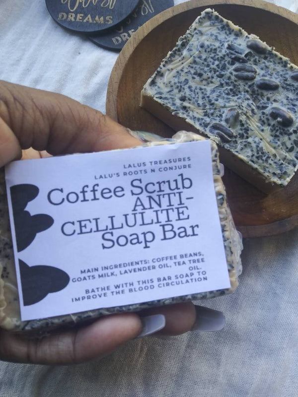 Coffee Scrub Goats Milk Soap Bar