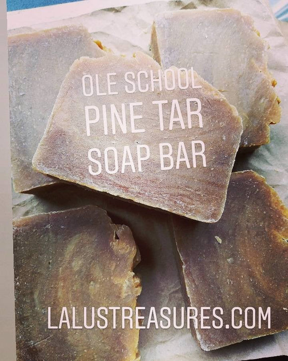 Pine Tar Soap Bar |Eczema Fighter