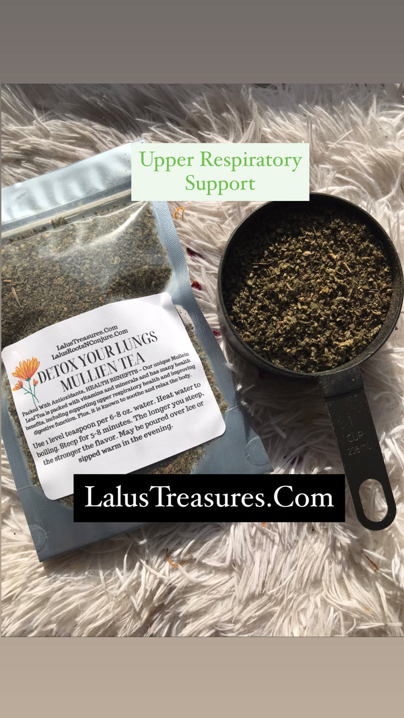 Detox Your Lung Mullien Tea