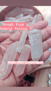 Rough Rose Quartz Point | Love