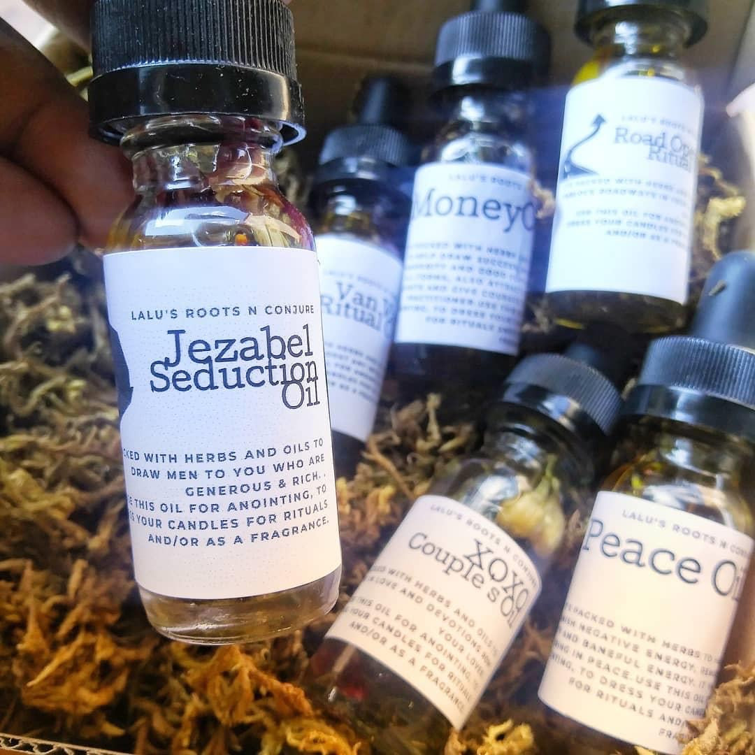 Jezabel Sex Ritual Oil