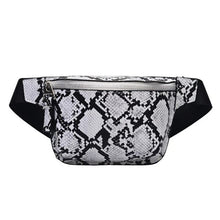 Load image into Gallery viewer, Snakeskin Fanny Pack