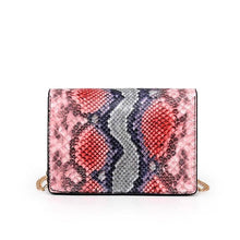 Load image into Gallery viewer, Snake Print Bag