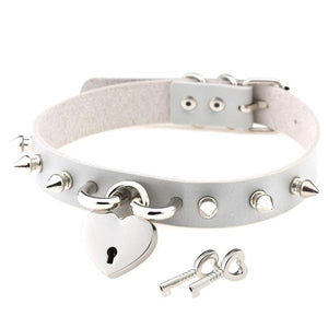 Lock & Key Choker