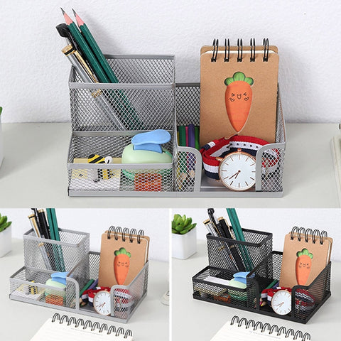 Metal Desktop Pen Holder Rack