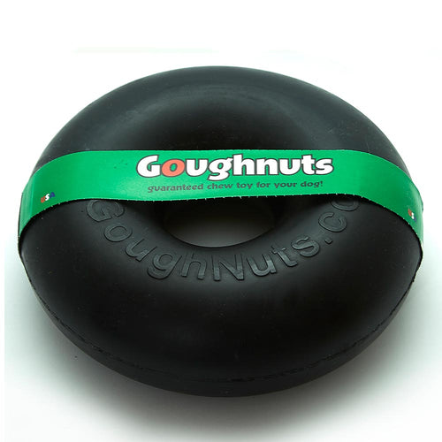 GoughNuts Maxx Black Ring Dog Toy-Best4Bulldogs