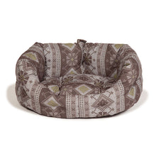 "Load image into Gallery viewer, Danish Design ""Fairisle"" Deluxe Slumber Dog Bed-Best4Bulldogs"