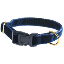 Load image into Gallery viewer, Doggie Apparel Velvet Dog Collars