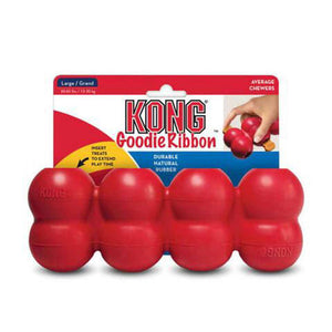 KONG Goodie Ribbon Dog Toy (Large)-Best4Bulldogs