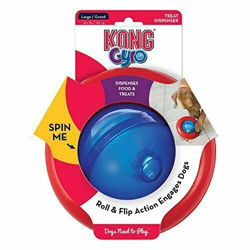 KONG Gyro Dog Toy (Large)-Best4Bulldogs