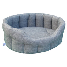 Load image into Gallery viewer, P&L Premium Heavy Duty Oval Basket Weave Dog Bed