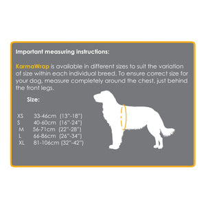 Petlife KarmaWrap Dog Anxiety Vest-Best4Bulldogs