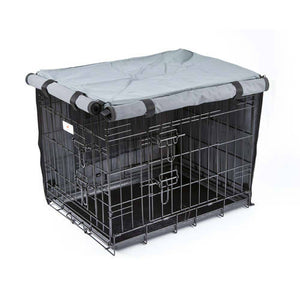 Settledown 2 Door Waterproof Dog Crate Covers-Best4Bulldogs