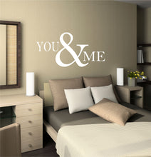 Load image into Gallery viewer, You & Me Wall Decal