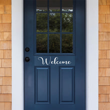 Load image into Gallery viewer, Welcome Front Door Decal