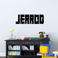 Load image into Gallery viewer, Personalized Name Gamer Wall Decal