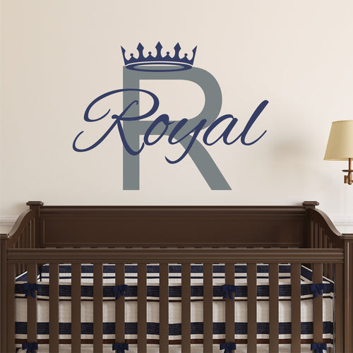 Personalized Prince Name Wall Decal