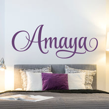 Load image into Gallery viewer, Personalized Name Wall Decal