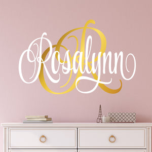 Personalized Name Wall Decal