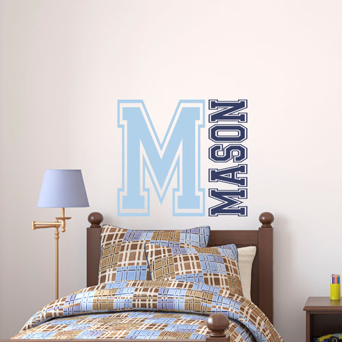 Personalized Name Initial Wall Decal