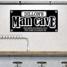 Load image into Gallery viewer, Personalized Man Cave Wall Decal