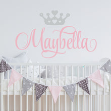 Load image into Gallery viewer, Princess Nursery Wall Decal