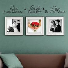Load image into Gallery viewer, Live Laugh Love Wall Decal